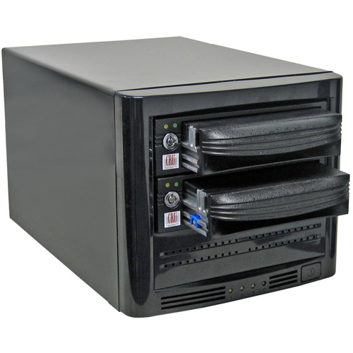 CRU Dataport 4 Bay SAS/SATA Enclosure with DX115 Carriers