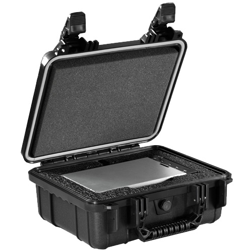 CRU DCP Kit #1 includes DX115 DC Carrier, Shipping Case with Custom Foam