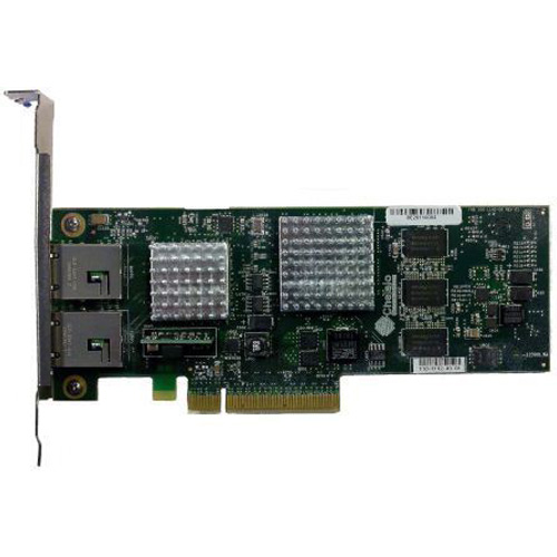 Chelsio 2-port 1/10GbE Low Profile UWire Adapter with PCI-E x8 Gen 2, 32K conn. RJ-45