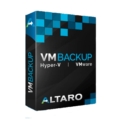 Altaro VM Backup for Hyper-V - Standard Edition including 1 year of SMA
