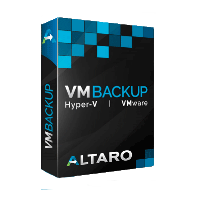 Altaro VM Backup for Hyper-V or VMware - Standard Edition including 1 year of SMA