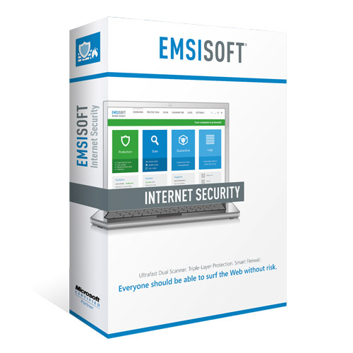 Emsisoft Internet Security 1PC - OEM, 1Yr (10+) - Promotion