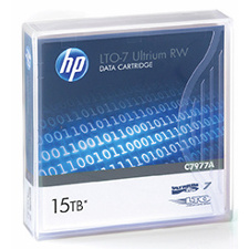 HP Ultrium LTO7 (6000GB-15000GB) Data Cart