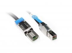 External MiniSAS (SFF-8088) to MiniSAS HD (SFF-8644) Cable 1M